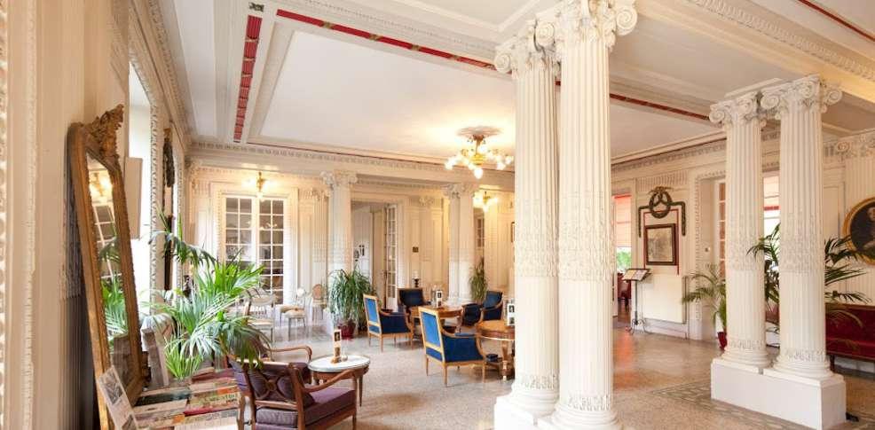 Grand h tel plombi res les bains h tel de charme for Grand hotel de paris madrid
