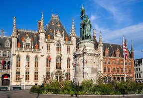Week-end dans la ville pittoresque de Bruges