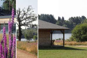 Week-end détente & découverte au bord d'un lac, au coeur d'un parc naturel en Corrèze