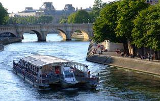 Week-end à Paris avec croisière sur la Seine