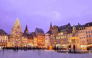 Offre Spéciale Marché de Noël : Week-end avec dîner & croisière au coeur de Strasbourg (2 nuits)