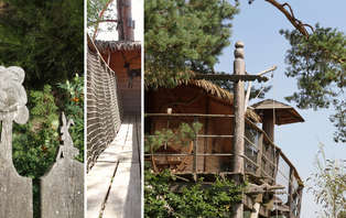 Week-end insolite avec activité nature dans une cabane au bord d'un lac en Corrèze