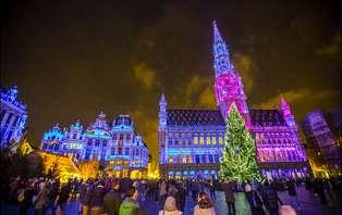 Offre marché de Noël: Week-end de luxe sur l'Avenue Louise à Bruxelles