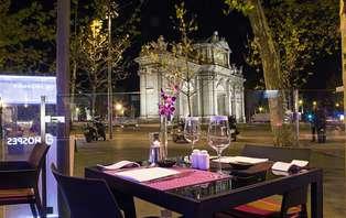 Escapada romántica con cena y spa en Madrid