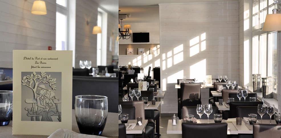 H U00f4tel Du Port Et Restaurant Des Bains  H U00f4tel De Charme Saint