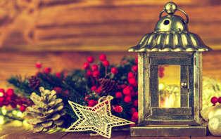 Offre spéciale Noël : Week-end aux portes de Paris avec un accueil VIP aux saveurs de Noël
