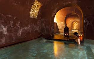 Evasión total en los baños árabes Hammam de Madrid