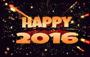 Goodbye 2015, Welcome 2016!