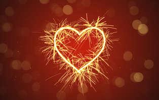 Offre spécial Saint-Valentin: Week-end romantique avec dîner