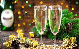 Offre spéciale: Weekend détente avec Dîner et Brunch du nouvel an près de Lyon