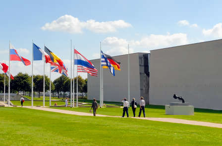 Weekend in de buurt van de D-Day stranden inclusief toegang tot het Gedenkteken van Caen