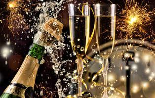 Offre spéciale Nouvel an: Célébrez la nouvelle année à proximité de Cognac, dîner spécial inclus.