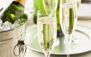 Week-end romantique avec diner et champagne à Bruxelles
