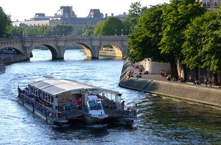Ontdekkingsweekend inclusief rondvaart over de Seine