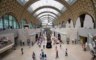 Week-end à Paris avec entrée au Musée d'Orsay (-50% de remise à partir de la 2ème nuit)