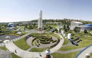 Week-end découverte avec entrées pour la cité de l'espace à Toulouse