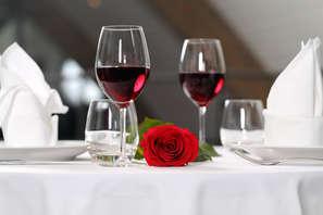 Offre spéciale Saint-Valentin: week-end avec dîner romantique dans un château rénové