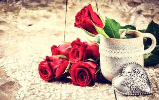 Offre spéciale Saint-Valentin : Week-end d'exception avec dîner pour un moment romantique!