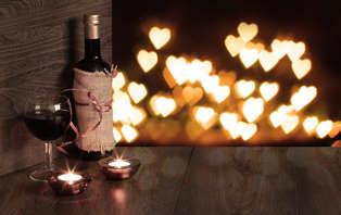 Offre spéciale Saint-Valentin : Week-end romantique avec dîner et dégustation de vins à Chinon