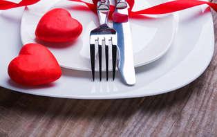 Offre spéciale Saint-Valentin : Week-end romantique avec dîner et champagne près de la Roche Posay
