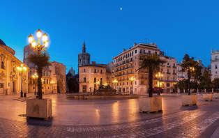 Surprenez votre moitié dans la merveilleuse ville de Valence (valable jusqu´au 2 février)