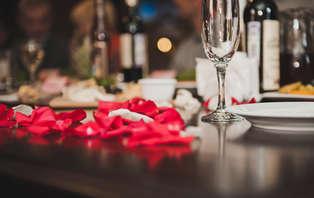 Offre Spéciale Saint Valentin : Dîner et bouteille de champagne dan un hôtel de charme à Grignan