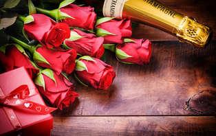 Passez une Saint-Valentin d'exception avec accès privatif au spa, champagne et mignardises à Plérin