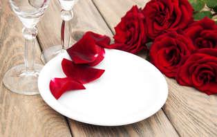 Offre spéciale Saint-Valentin : Séjour avec dîner romantique et soirée dansante près de Paris