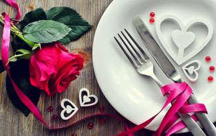 Offre spéciale Saint-Valentin : Escapade romantique avec dîner près de Rennes