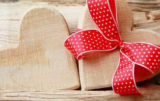 Offre spéciale Saint Valentin : Week-end en amoureux avec dîner