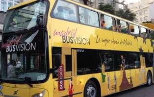 Escapada con bus turístico en el centro de Madrid