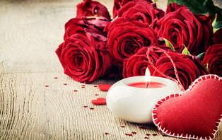 Offre Saint-Valentin: week-end avec dîner romantique 5 plats et coffret coquin à 30 minutes de Paris
