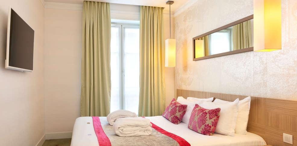 H tel le marceau bastille h tel de charme paris for Reservation hotel a paris gratuit