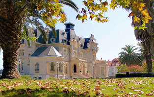 Escapada romántica en un palacio frente al mar cerca de Bilbao (desde 2 noches)