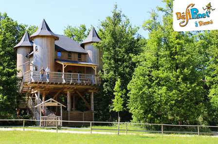 Week-end découverte en famille à Poitiers avec billets d'entrée pour le parc Défiplanet'