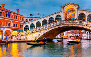 Offre spéciale 2*3: week-end magique à Venise (à partir de 3 nuits)