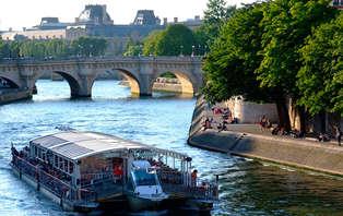 Week-end détente avec croisière sur la Seine avec