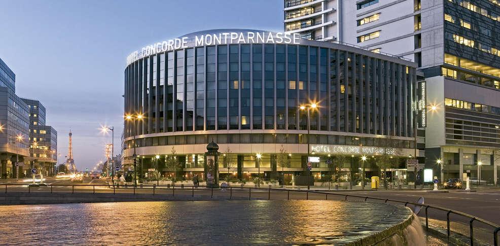 H tel concorde montparnasse h tel de charme paris for Hotel design montparnasse
