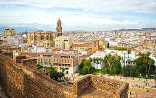 Minivacaciones de lujo en Málaga: con una cena y parking (desde 3 noches)