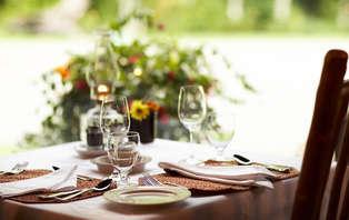 Week-end de charme avec dîner à 1h30 de Paris