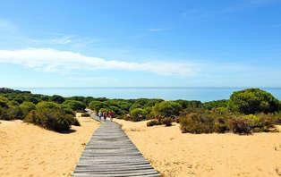 Escapada a las playas vírgenes de Doñana en Mazagón con cena (desde 2 noches)