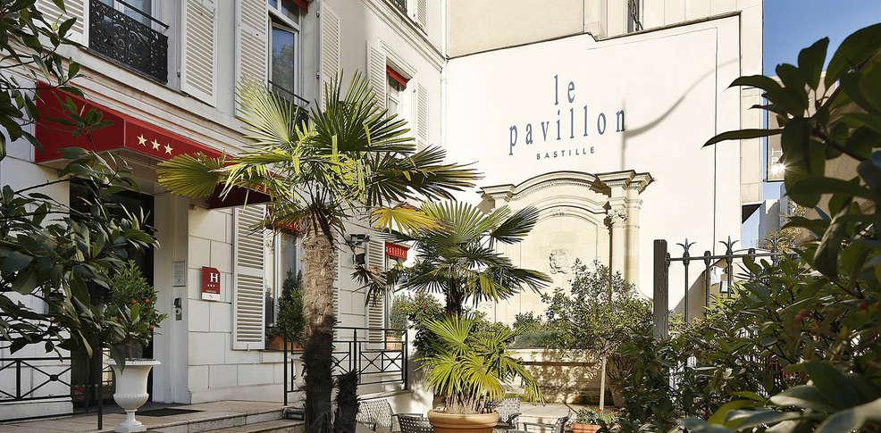 H tel pavillon bastille h tel de charme paris for Reservation hotel a paris gratuit