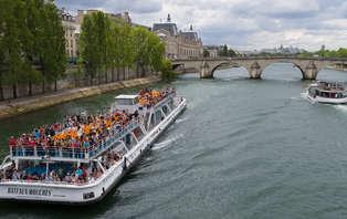 Offre spéciale: Week-end découverte avec Croisière Promenade sur la Seine
