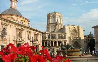 Citytrip romántico con visita guiada por el centro de Valencia