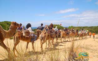 Escapada exótica & health con paseo en camello por Doñana (desde 2 noches)