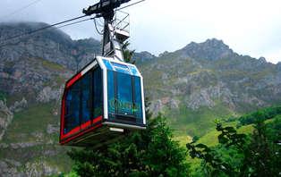 Escapada con tickets para el Teleférico de Fuente Dé en los Picos de Europa