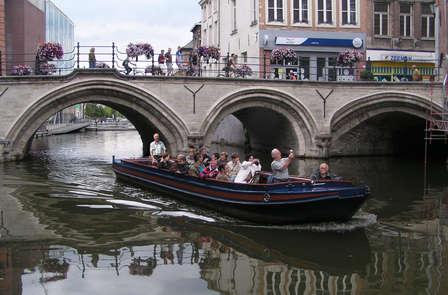 Ontdekkingsweekend per boot in Mechelen