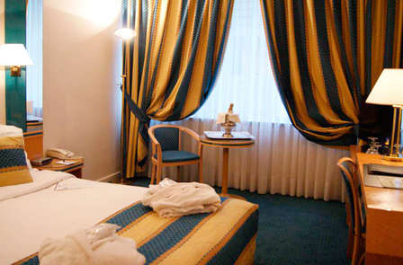 Weekend in een deluxe kamer in Brussel