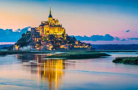 Weekend op het eiland Le Mont-Saint-Michel