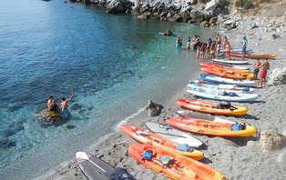 Escapada aventura & health con ruta en Kayak en Estepona